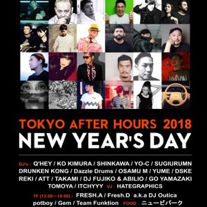 DJ ATT @ R LOUNGE NEW YEAR AFTER HOURS 2018