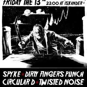 Live at FRIDAY THE 13TH @Iskander 13.02.15