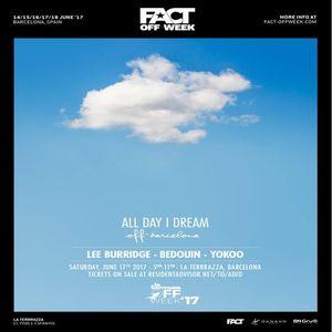 Lee Burridge - Live @ All Day I Dream Off Barcelona, Spain 17.06.2017