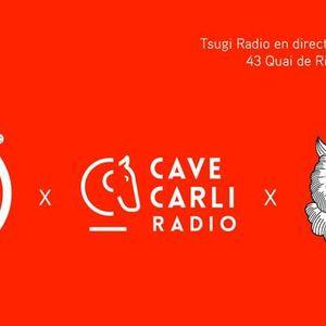 Plateau extérieur Cave Carli Radio pour la 100éme de TSUGI @ La Dame Noir VII