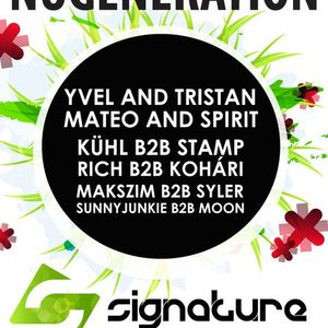 Rich & Stamp live Signature party Club Cocoon 20110409