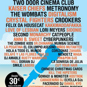 Arenal Sound 2012 mix