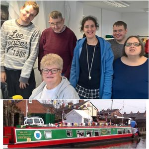 Sue Woodgate - New Horizons Canal Boat Trust