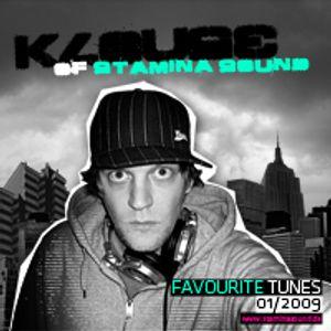 Stamina Sound - Favourite Tunes #001 (2009)