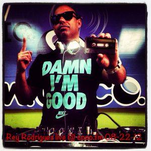 REY RODRIGUEZ LIVE MIX @ #1 COCO.FM 08-22-12