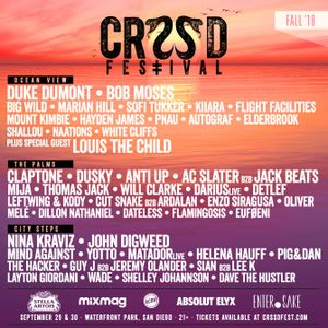 John Digweed @ Crssd Festival, Waterfront Park in San Diego - 29 September 2018