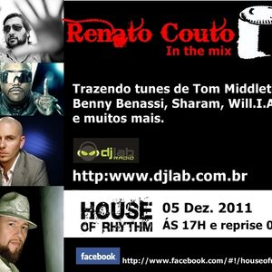 House Of Rhythm - 05/12/2011 - Renato Couto