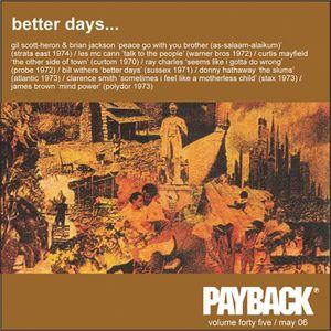PAYBACK Vol 45 May 2006