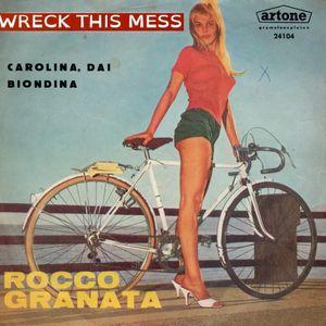 Wreck Bike-Fiets-Vélo-Fahrrad 1158