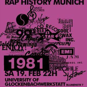 Rap History 1981 Mix