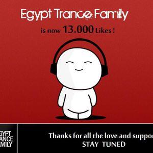 Eargasm Pres. Egypt Trance Family Celebrating 13K Fans