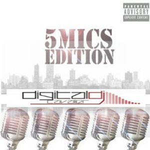DigitalDJCavalier :: 5 MICS MIXTAPE - HIP HOP