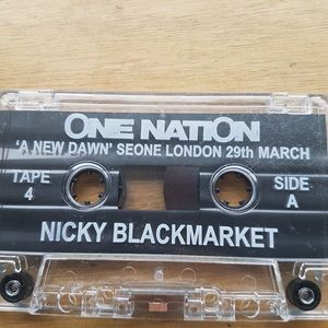 Nicky blackmarket & ic3 - One nation - A new dawn 2003
