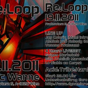 AkateK b2b Nobody @ Re:loop 19.11.2011