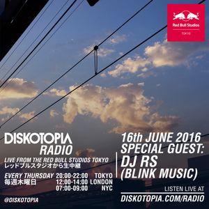 Diskotopia Radio 16th June 2016 w/ DJ RS