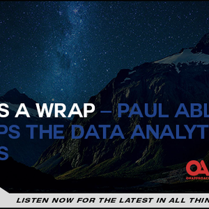 That's a Wrap – Paul Ablack Recaps the Data Analytics Series