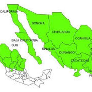Región Cultural del México antiguo, Norte