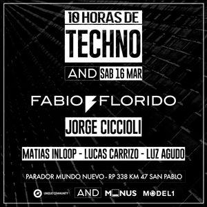 Matias Inloop @ 10 HORAS DE TECHNO W/ FABIO FLORIDO & JORGE CICCIOLI