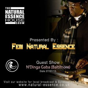 The Natural Essence House Show Episode 171 - N'Dinga Gaba | www.natural-essence.co.uk