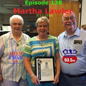 Episode 138 - Martha Lawler