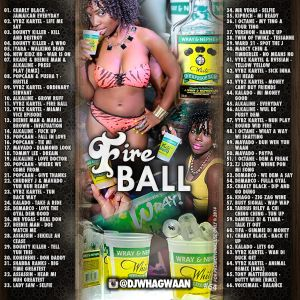VA-Dj WhaGwaan - Fire Ball (Promo Cd) 2014