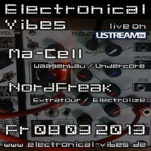 2013.03.08 - electronical vibes liveshow with Ma-Cell, NordFreak, Joston