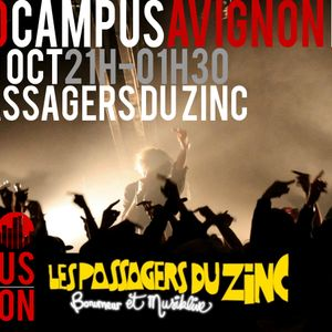 Symphonies Urbaines aux Passagers du Zinc - Radio Campus Avignon - 19/10/12