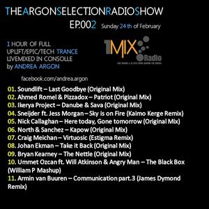Argon Selection Radio Show #002 @ 1MixRadio - 274february2013