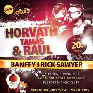 Club Allure Live - 2016.02.20. Horváth Tamás - Banffy - Rick Sawyer
