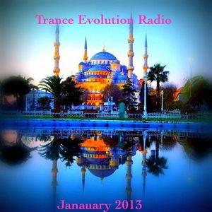 TRANCE EVOLUTION RADIO: JANUARY 2013, CHARTED