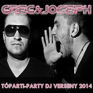 Greg&Joseph – Tóparti-Party DJ verseny 2014
