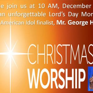 CHRISTMAS MUSIC with George Huff