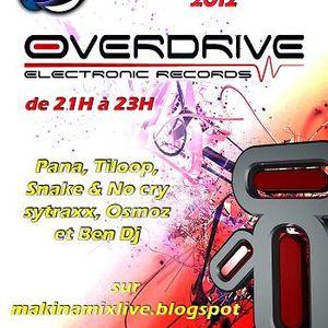 Session Uk Hardcore pour radio MakinaMixLive soirée spéciale Overdrive Electronic Records 15.06.12