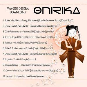 Onirika DJ Set - May 2010 Galileo