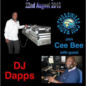 Cee Bee Takeover 001 - DJ Dapps Session 22-08-2015