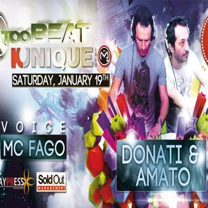 Kunique Too Beat Saturday January 19-2013 On AIr: Donati&Amato