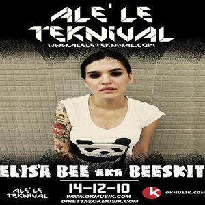 Alè Le Teknival 14.12.2010 - ELISA BEE aka BEESKIT