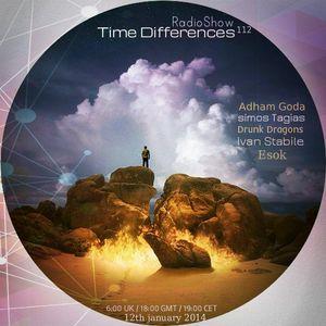 Simos Tagias - Time Differences 112 [12th january 2013] On Tm-Radio