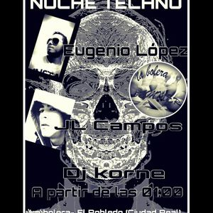 Eugenio Lopez @ La Bolera night techno  - 18-07-2015