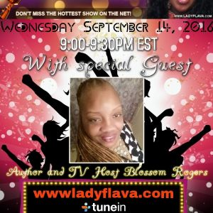 Blossom Rogers Interview Lady Flava Show