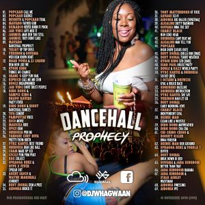 VA-Dj WhaGwaan - Dancehall Prophecy (Promo Cd) 2018