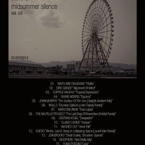 Steve D - Midsummer Silence vol. 03 (01/07/2012)