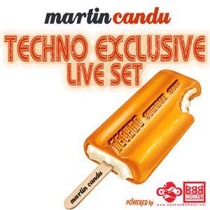 Martin Candu Techno Exclusive Live Mix Summer 2016