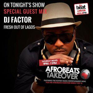 #AfrobeatsTakeover: @selectamaestro @dboyCityLove 07.01.2017 9-11pm