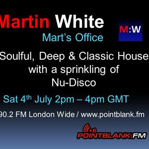 14.07.15 Martin White - Mart's Office Point Blank FM