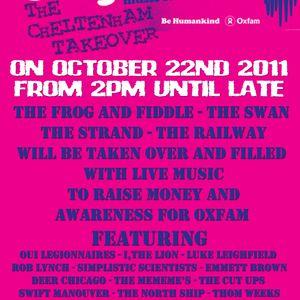 The making of The Oxjam Takeover Cheltenham 2011