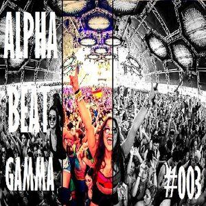 ALPHA BEAT GAMMA #003