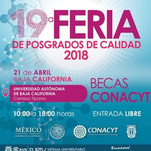 19 Feria de Posgrados CONACYT