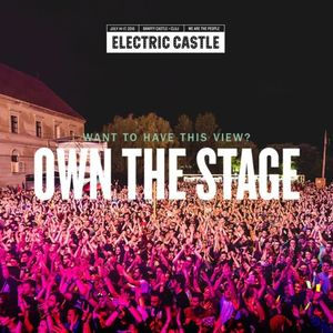 Own The Stage at Electric Castle 2016 – Adrian Pestesan