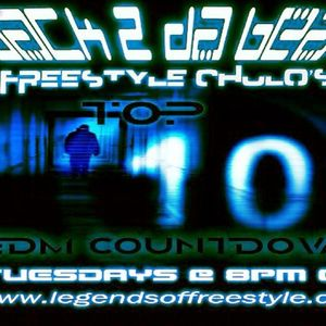 Top 10 EDM Countdown Show with Freestyle Chulo January 15, 2013